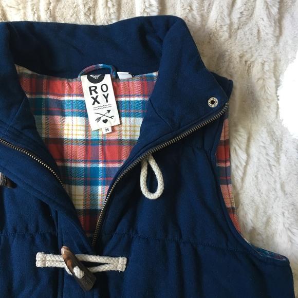 Roxy Jackets & Blazers - Roxy Vest with Toggles